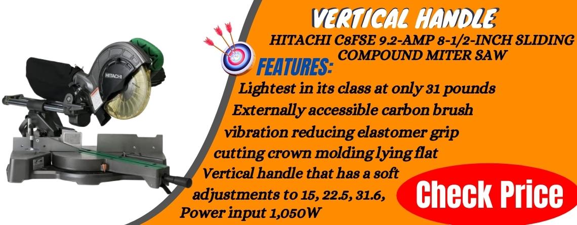 Hitachi C8FSE 8.5 Sliding Compound Miter Saw Reviews