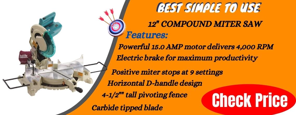 12 Compound Miter Saw