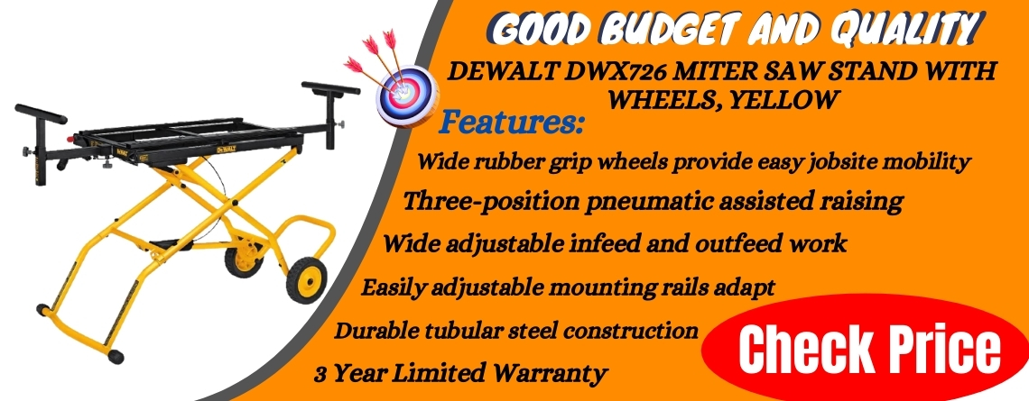 DEWALT DWX726 Miter Saw Stand With Wheels, Yellow Reviews