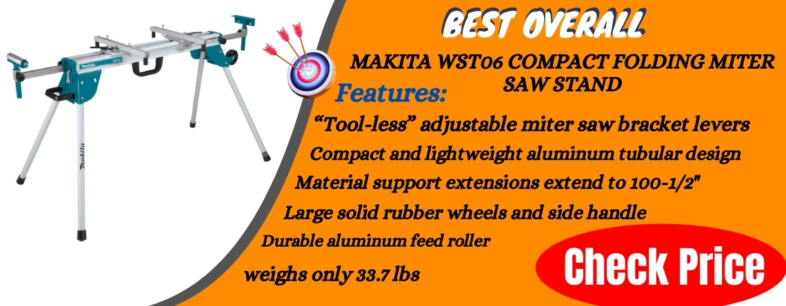 Makita WST06 Compact Folding Miter Saw Stand Reviews