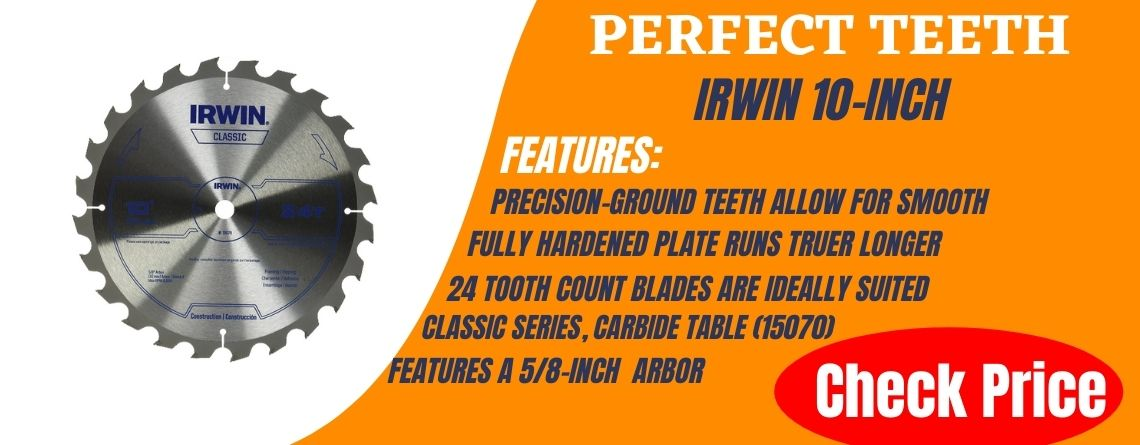 best 10 inch finish miter saw blade