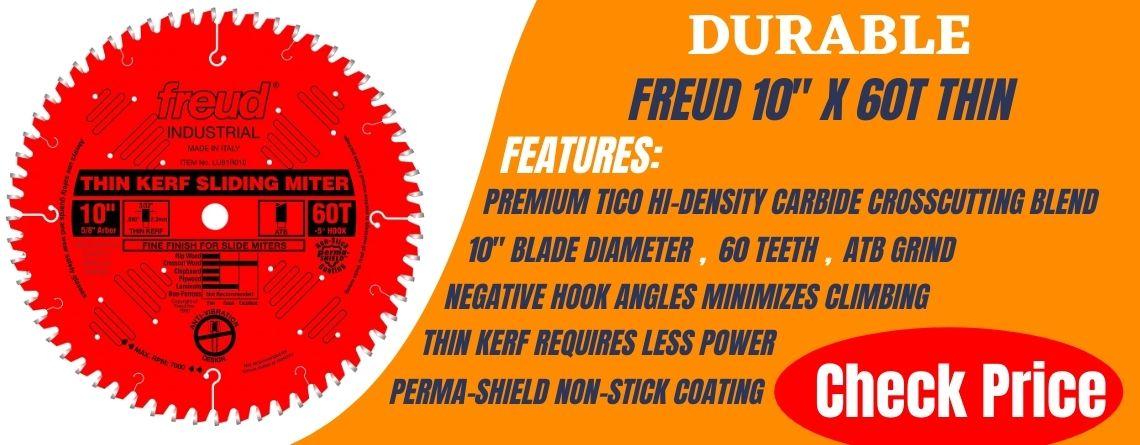 best 10 inch miter saw blades