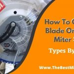 how to change blade on ryobi miter saw